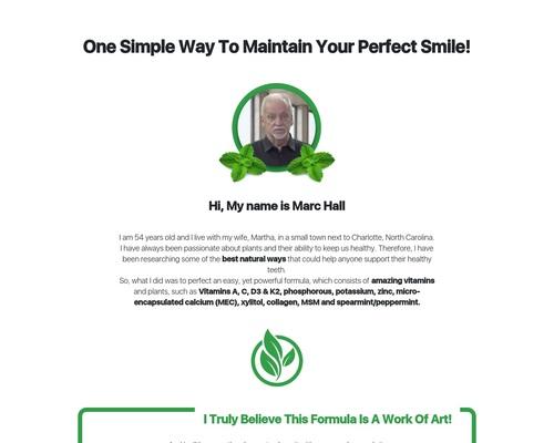 Dentitox – Unique Dental Drops Offer