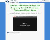 Stop Snoring Exercise Program cb vsl | Blue Heron Health News
