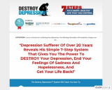 The Destroy Depression™ System – Cure Depression Naturally