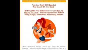 Hot Metabolism – Increase your metabolism to burn fat.