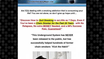 Quit Smoking Magic Official – Quit Smoking in Less than 7 Days
